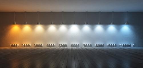 Barwa światła - Technika świetlna